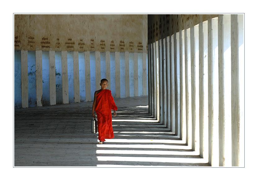 In der Säulenhalle