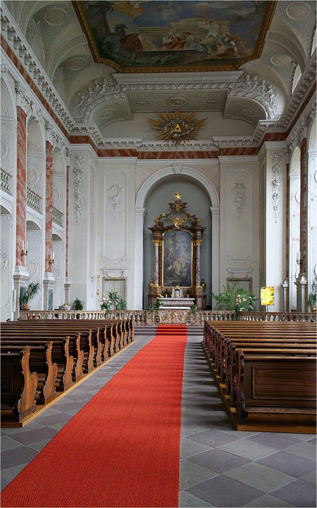 In der Schloßkirche