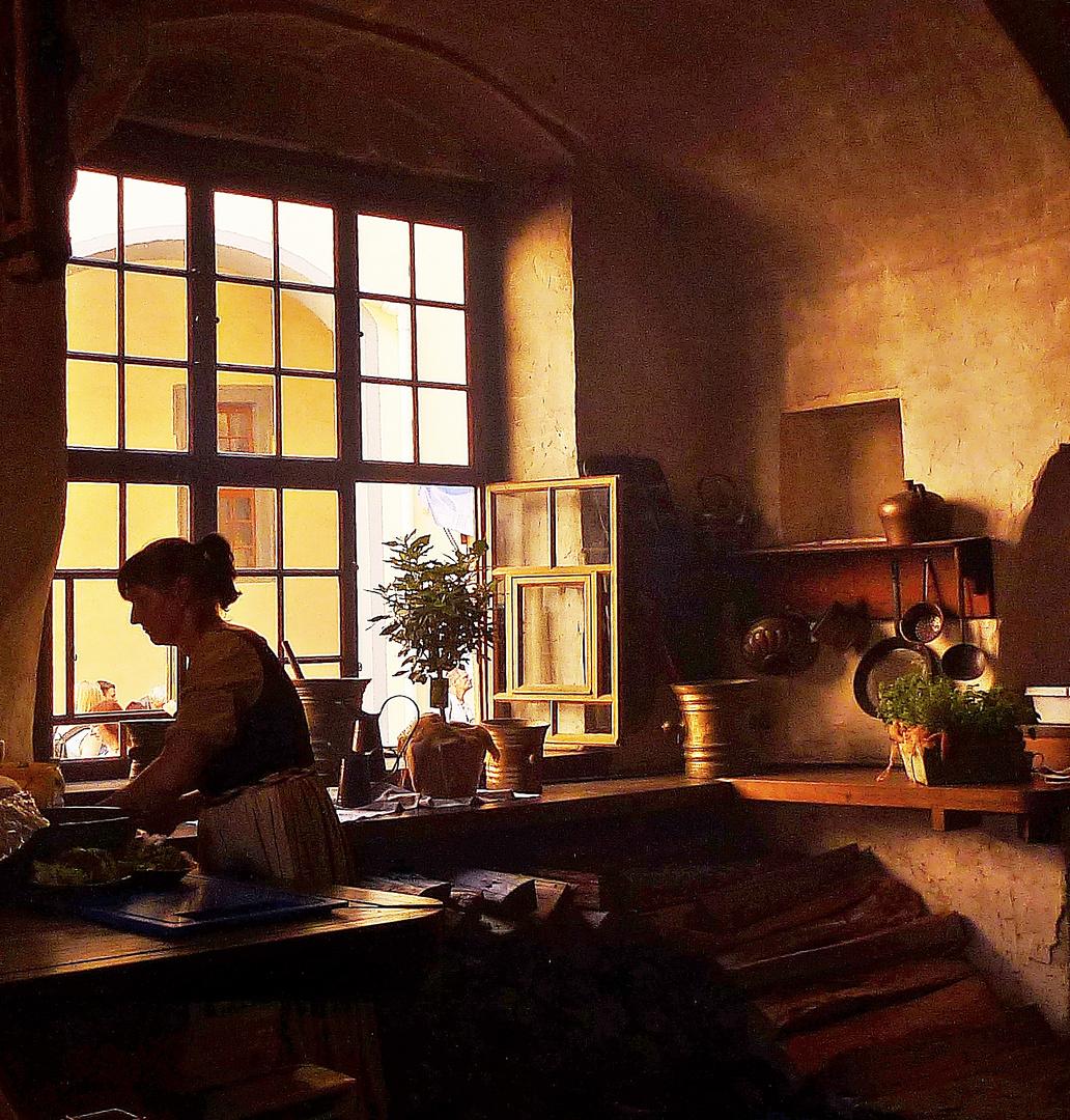 In der Schloßküche ...