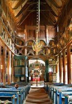 In der Stabkirche Lom