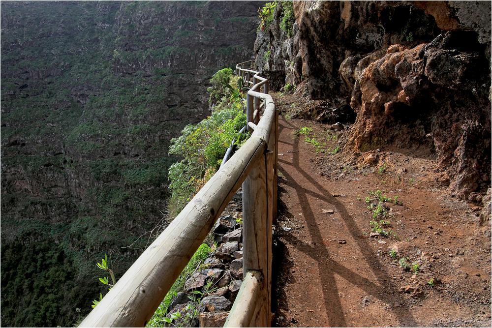 in der Steilwand von Agulo