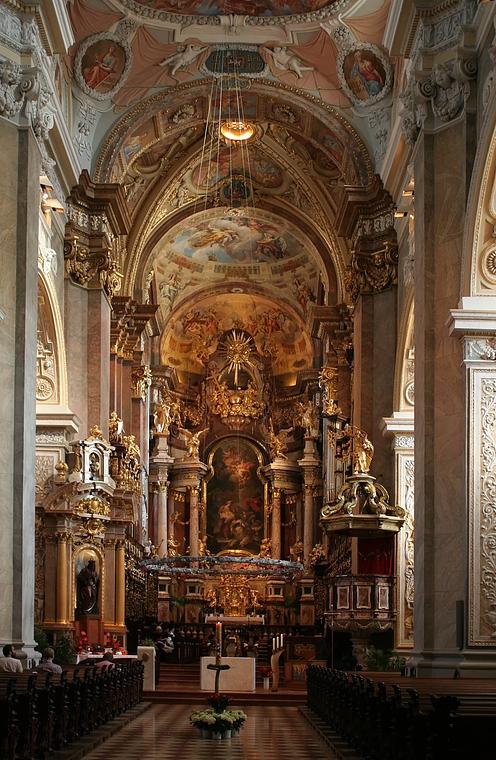 In der Stiftskirche Klosterneuburg
