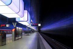 In der Tiefe des Bahnhofs