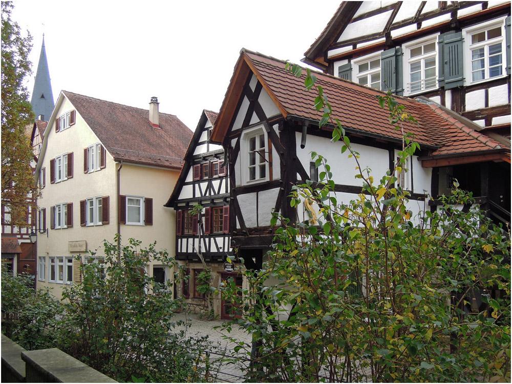 In der Tübinger Altstadt