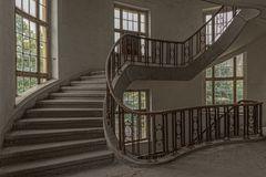 in der verbotenen Stadt... im Treppenhaus