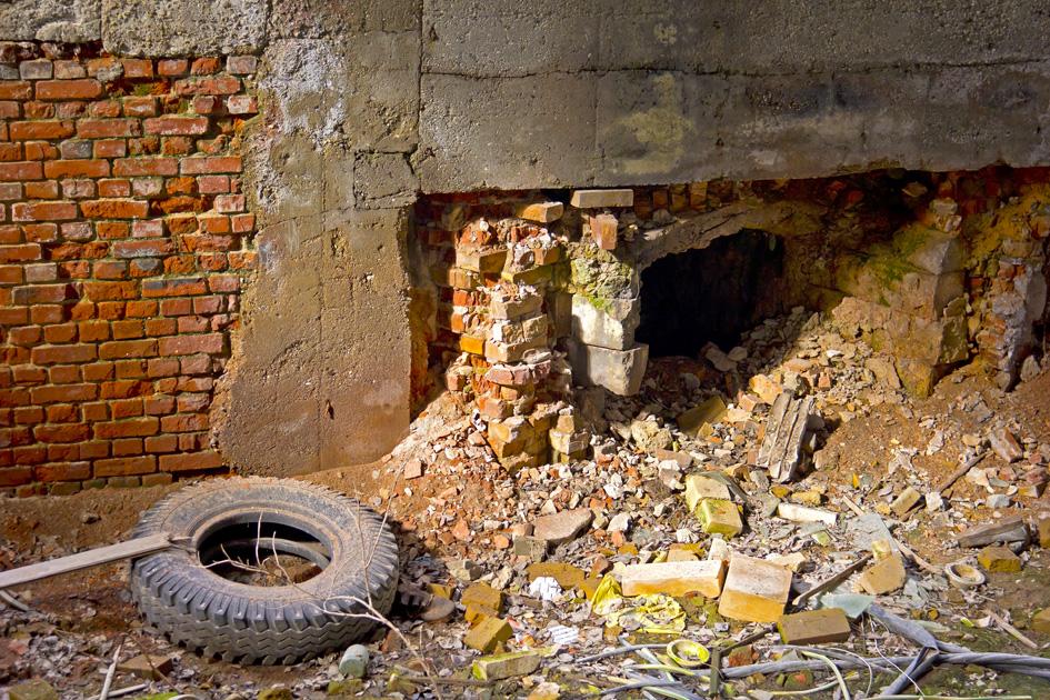In der verlassenen Fabrik