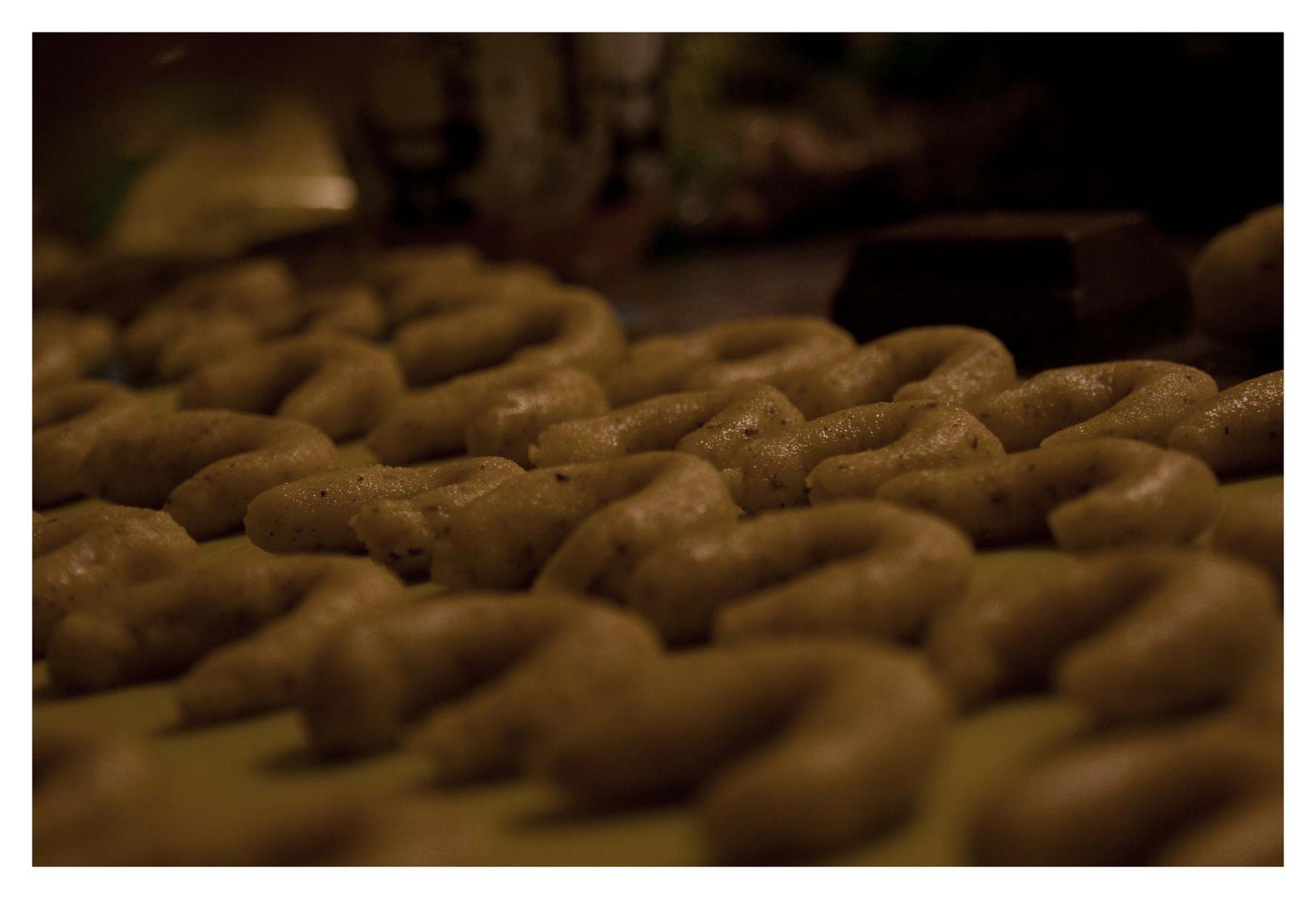 in der Weihnachtsbäckerei.........