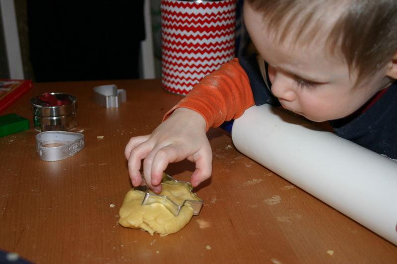 ...in der Weihnachtsbäckerei...