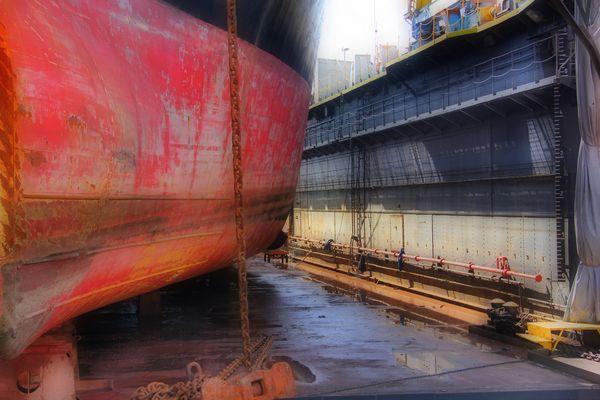 In der Werft von Napoli