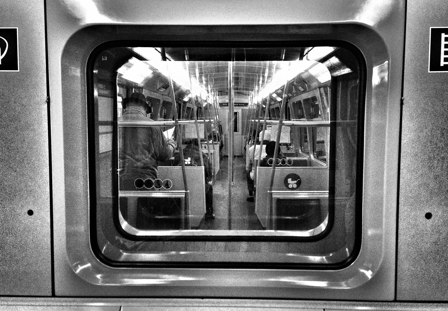 In der Wiener Ubahn