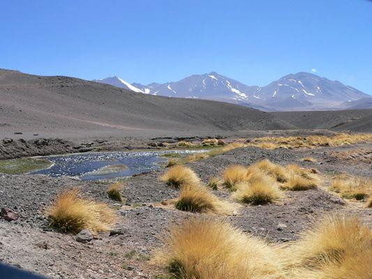 in der Wüste auf 5000m Höhe