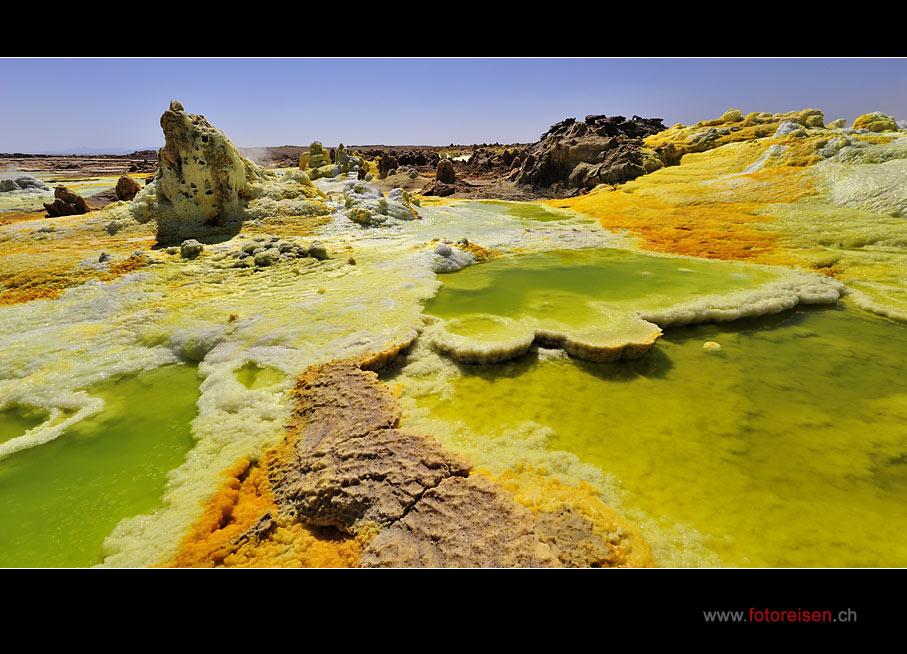 In der Wüste Danakil - Das Dallol