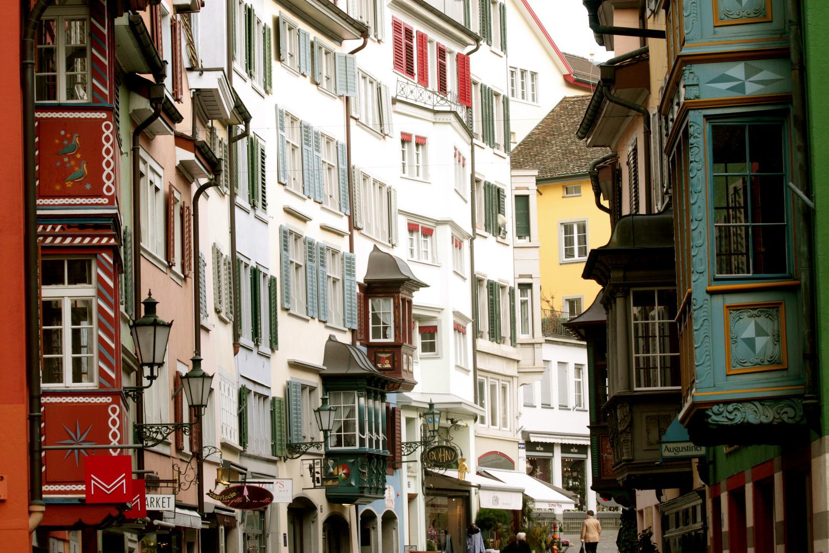 In der Züricher Altstadt