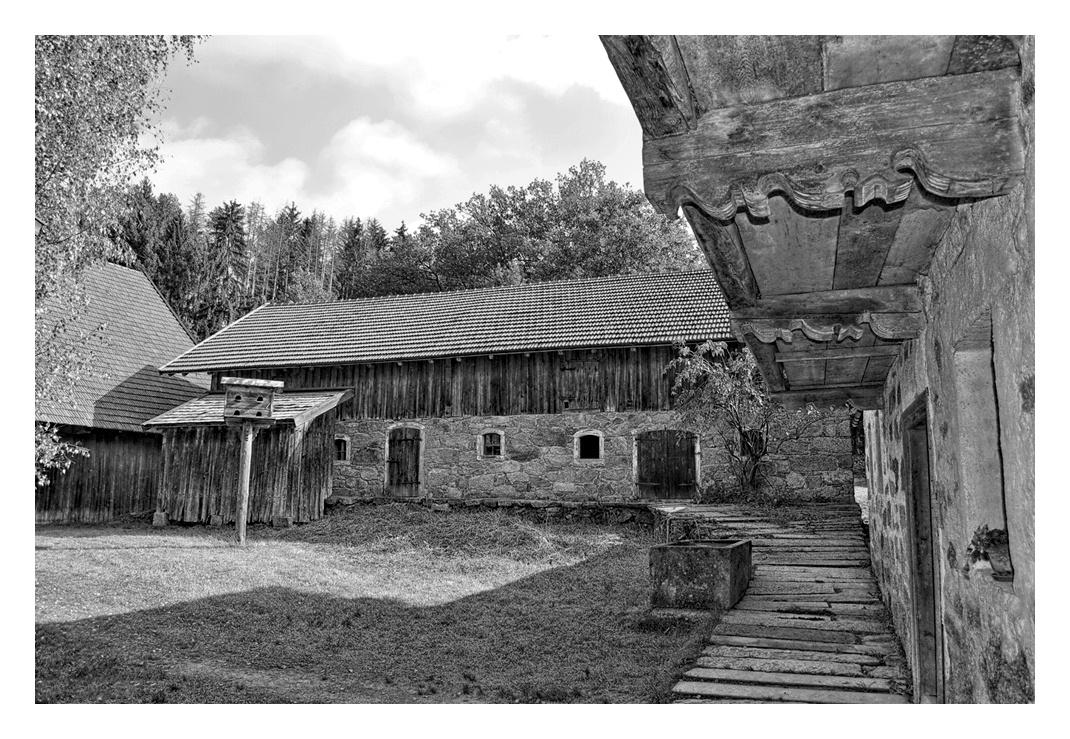 In einem bayerischen Hof