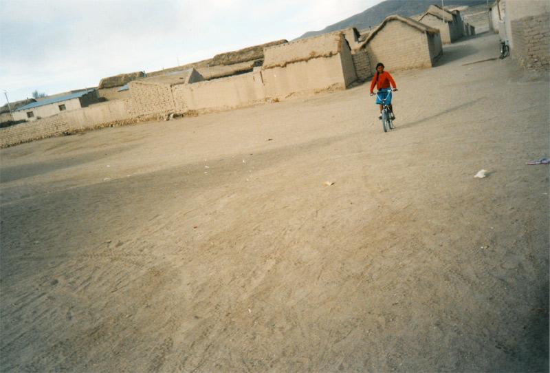 In einem Dorf in der Salzwüste von Uyuni