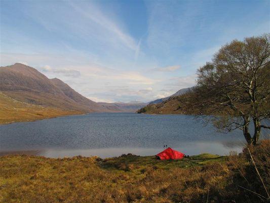 In einem schottischen Glen