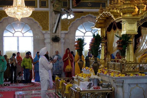In einem Sikh-Tempel in Bangkok