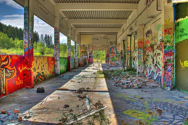 In einer alten Fabrik nahe München