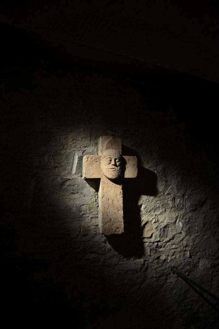 In einer Kirche in Würzburg