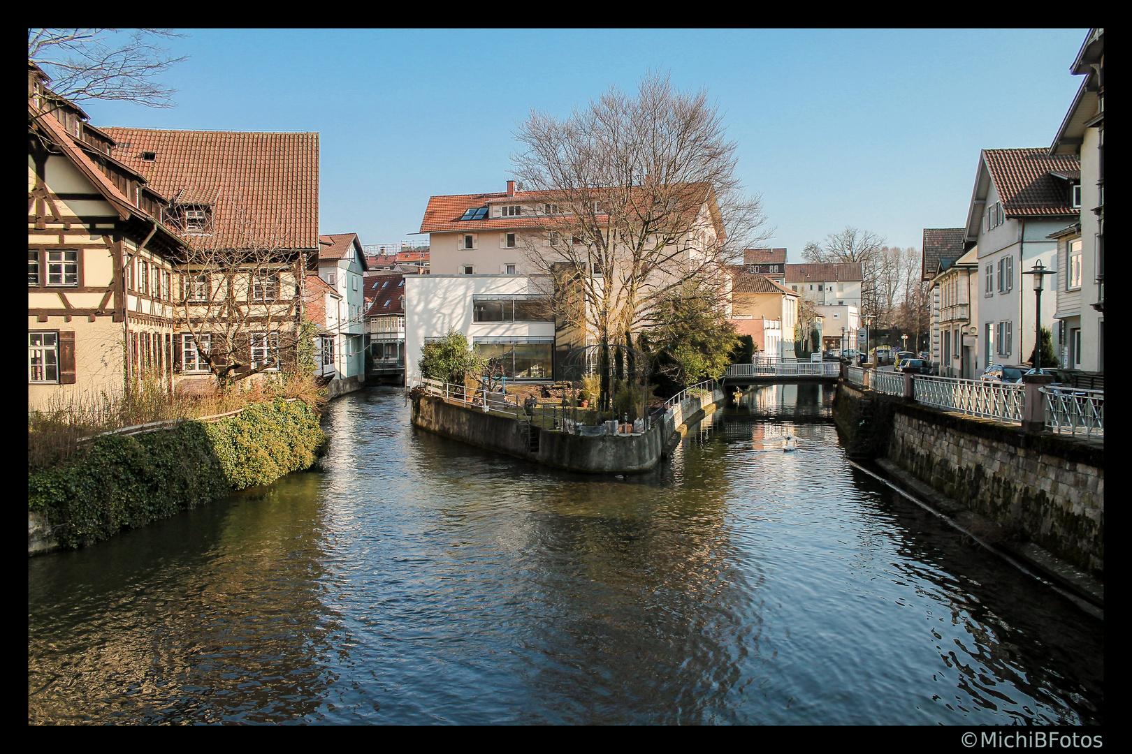 In Esslingen mit Rahmen