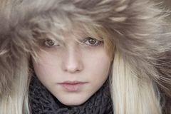 In her brown eyes..