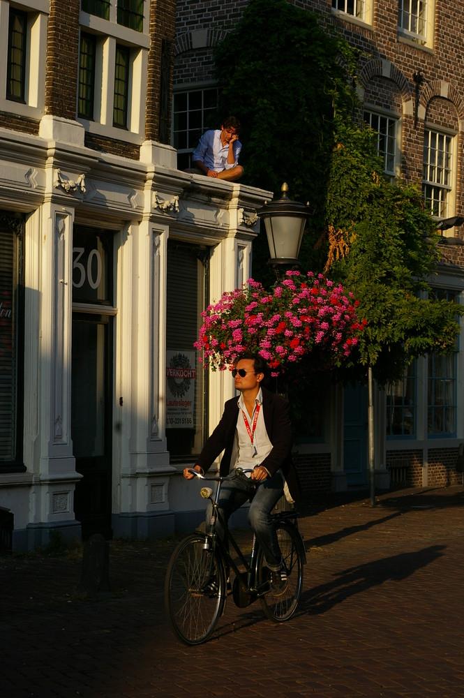 In Holland ist es einfach gemütlich...