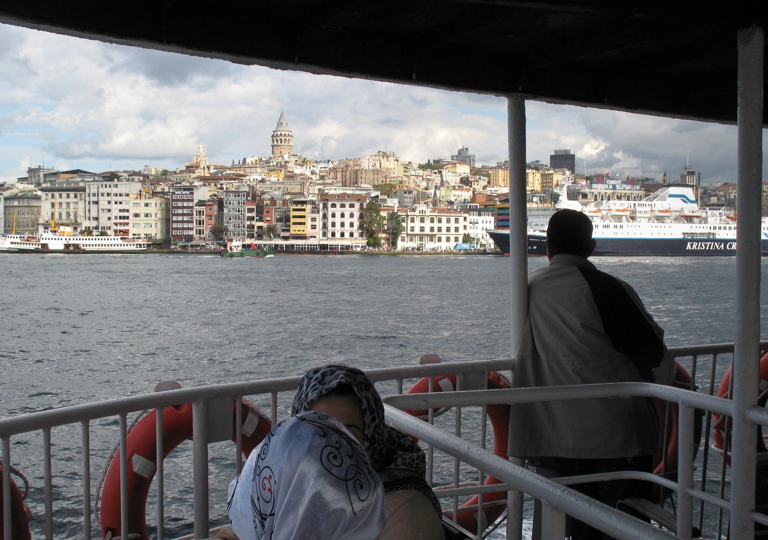 In Istanbul mit Opa Ali