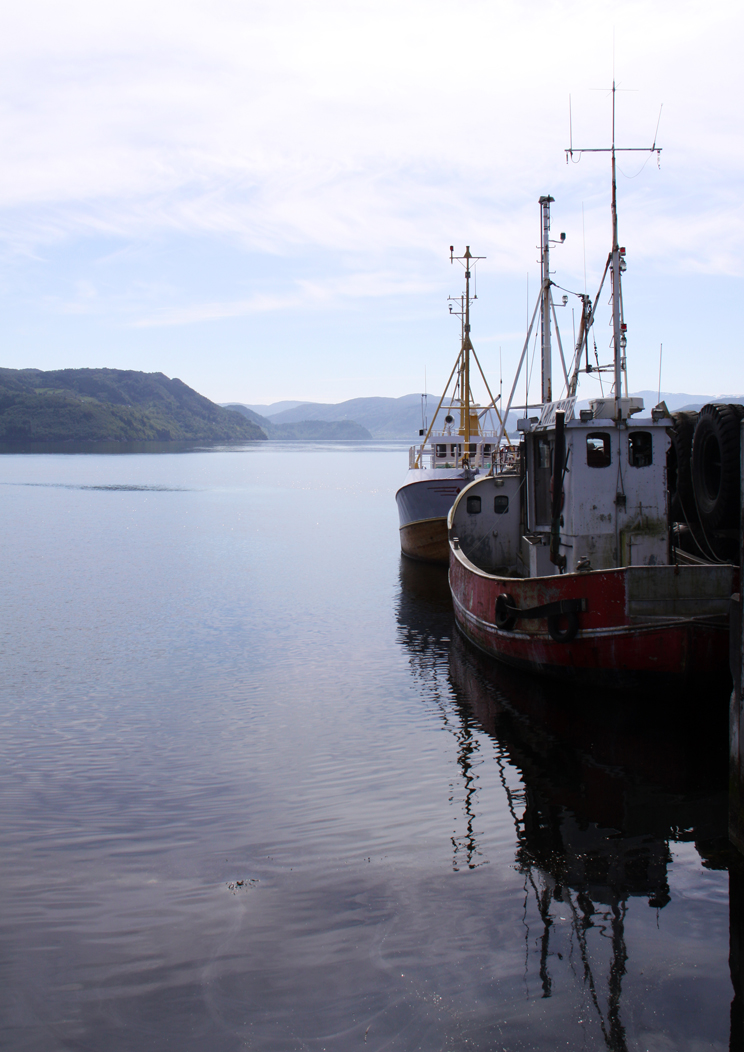 in Knarvik am Hafen