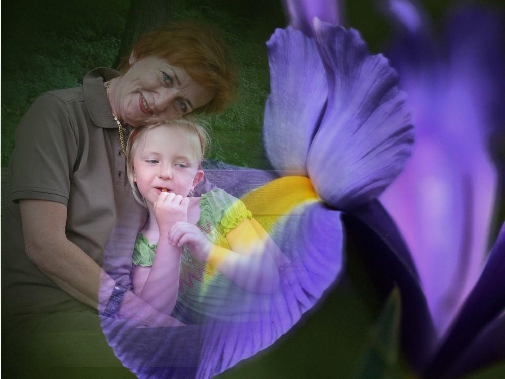 ... in Liebe deine Grosse mit Enkelkind ......