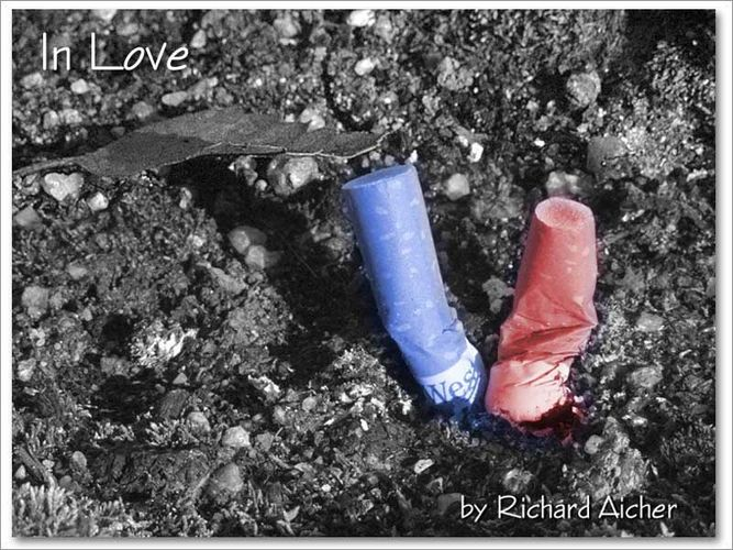 In Love - Red and Blue