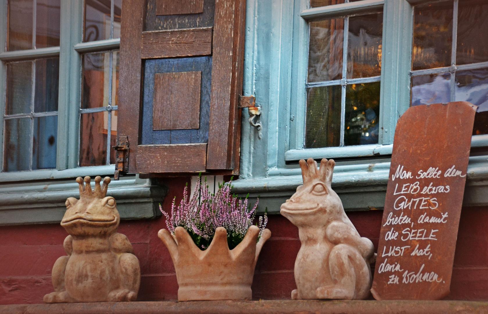In Marburg's Altstadt