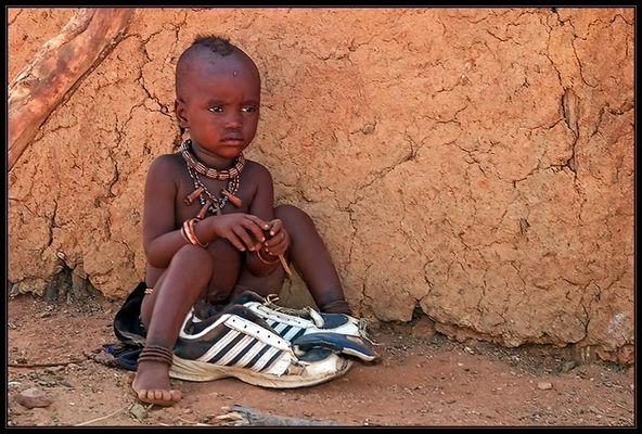 In meine neuen Schuhe wachse ich noch rein!