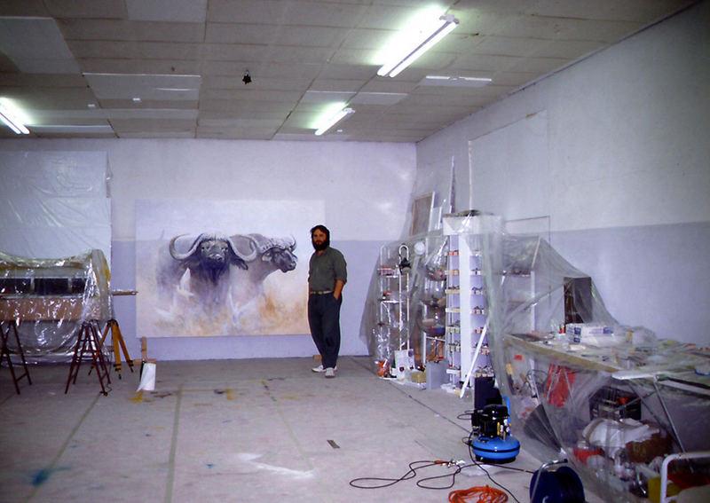 In meinem Atelier
