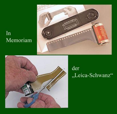 """In memoriam – der """"Leica-Schwanz"""""""
