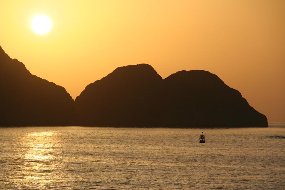 In Muscat geht die Sonne auf !