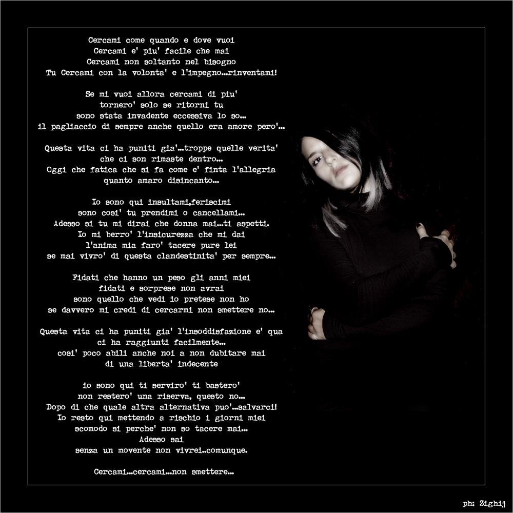in musica #9 - CERCAMI -