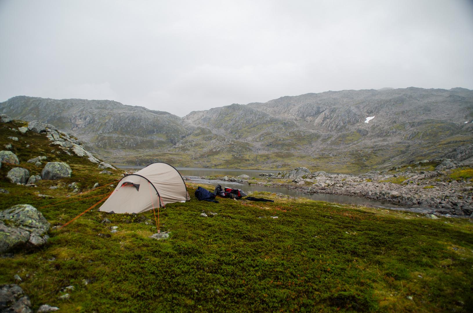 In Norwegen kann man frei zelten.