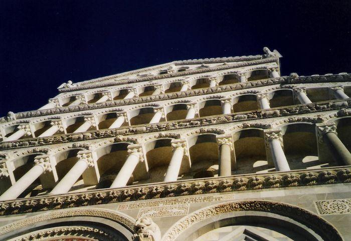 in Pisa....