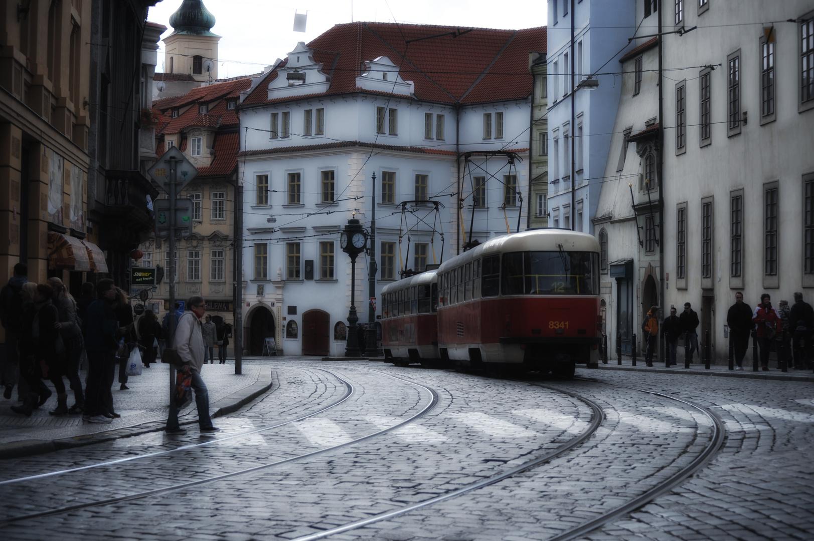 In Prag...