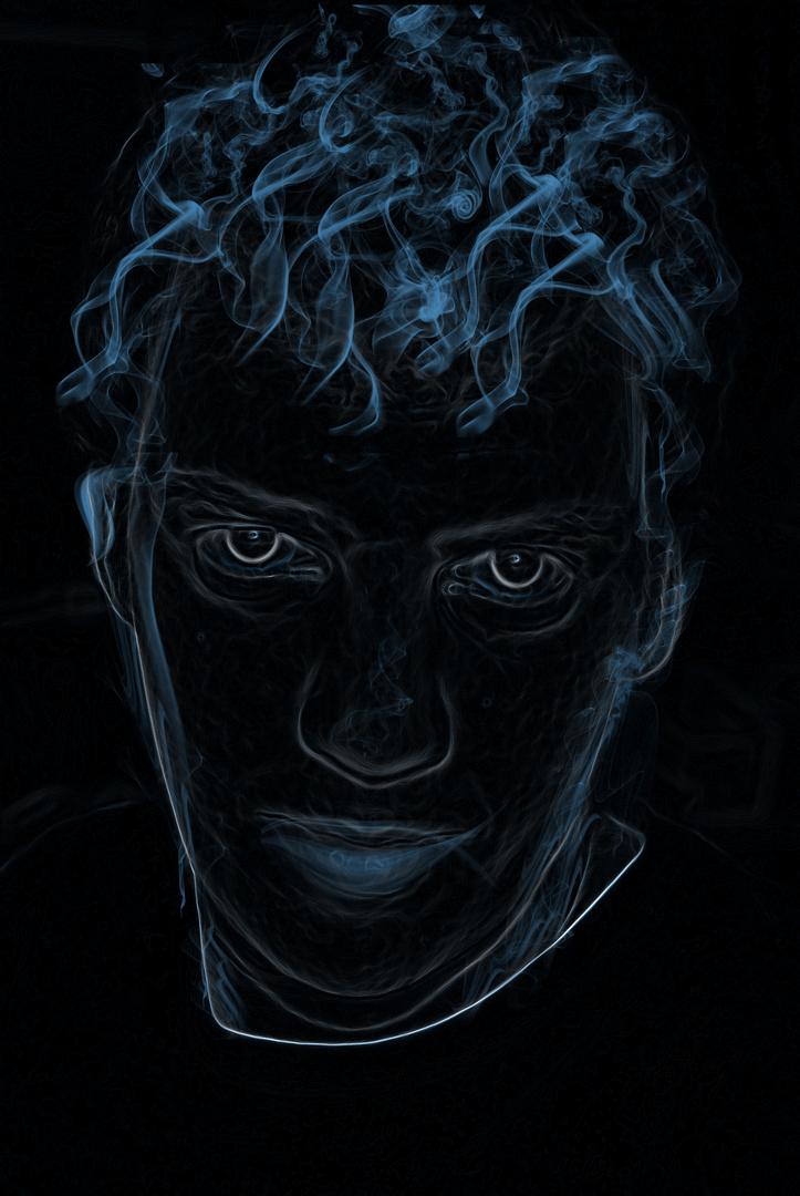 In Rauch aufgelöst