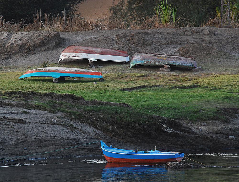 In riva al fiume...