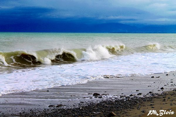 in riva al mare..
