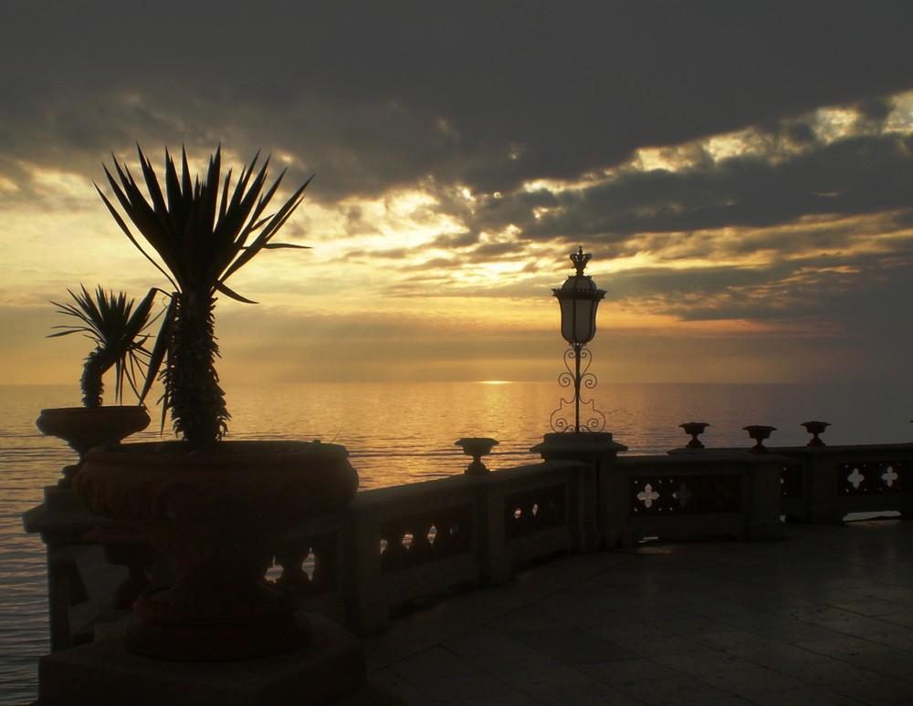 In silenzio ... ad ammirare il tramonto