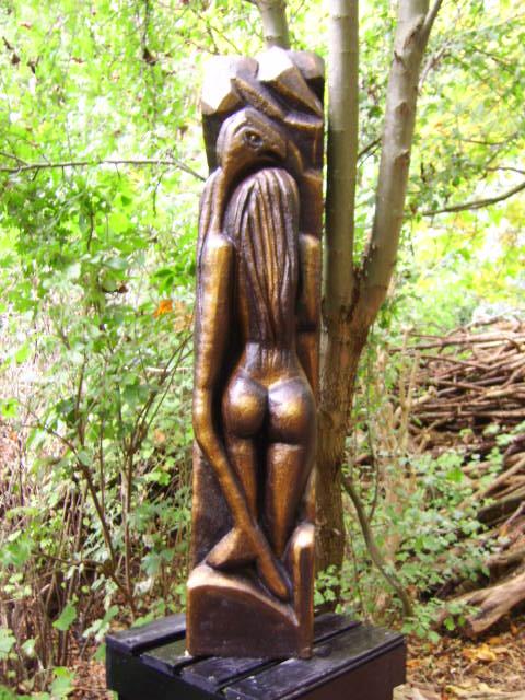 In Skulpturen Garten in Wangerland-Tettens