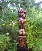 In Skulpturen Garten in Wangerland-Tettens,Glockengasse 2