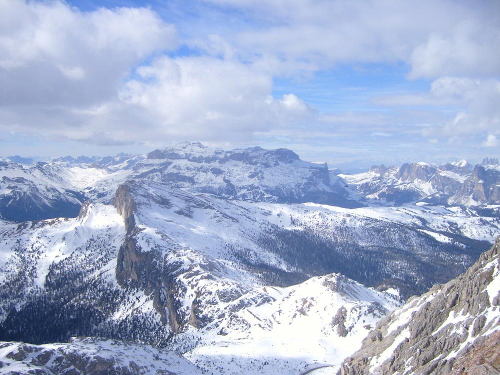 In Südtirol auf 3000m Höhe