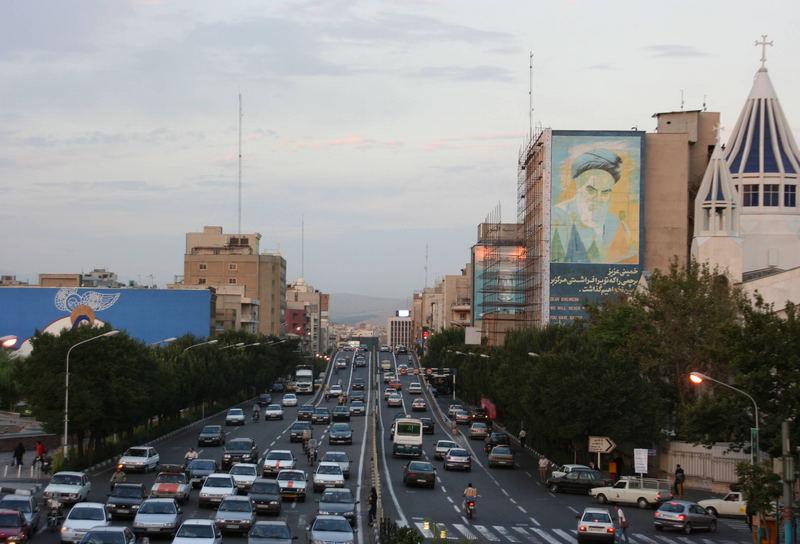 in Tehran