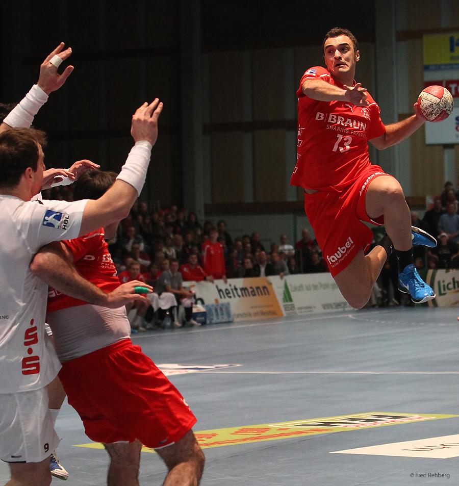 ... in the air - Handball Bundesliga