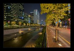 in the heart of seoul