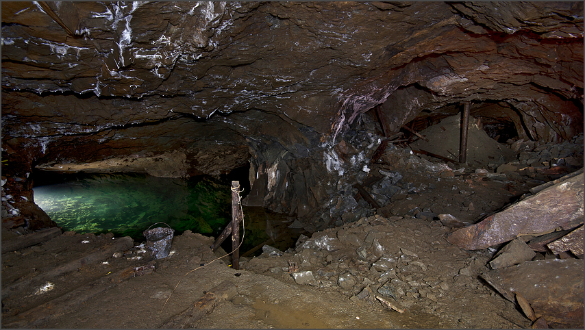 In the mine